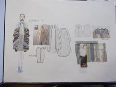 ILLUSTRATION || Fashion design development portfolio
