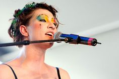 """""""I'm bisexual, but it's not the sort of thing I spent a lot of time thinking about. I've slept with girls; I've slept with guys, so I guess that's what they call it! I'm not anti trying to use language to simplify our lives.""""~Amanda Palmer"""