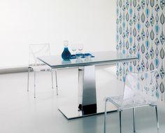 Esszimmertisch Glas Esstisch Ausziehbar Flastische