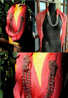 Palamuti by PJ Valenciano: Developing our Scarf Necklaces