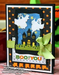 The Serendipitous Stamper: BOO TO YOU!!
