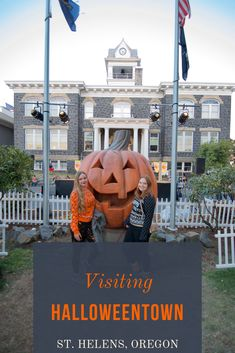 Looking for spooky travel destinations this Fall? Visit the town where Halloweentown, a Disney Channel Original Movie, was filmed! Halloween Town, Halloween Costumes, Halloween Film, Halloween Activities, Oh The Places You'll Go, Places To Travel, Travel Destinations, Dream Vacations, Vacation Spots
