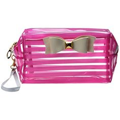 Description: Material:PVC 100% brand new and high quality! Color:Purple,Hot Pink,Pink,Yellow Size:21*11cm/8.27*4.33″(It is manual measurement, there may be 2-3cm error) Item Type:Cosmetic Bag Gender:Women Pattern Type:Solid Solid and durable leather waterproof fabric More waterproof,stronger and easier to clean Good quality is very good,the version is excellent,space capacity Suitable for:mobile phone,tool,notebook,pen,key etc Great for travel or display …