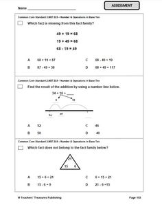 2nd Grade New York Common Core Math