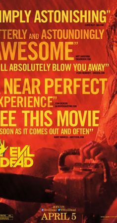 Evil Dead (2013) surprisingly a pretty good remake. SS