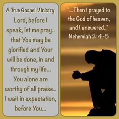 Morning Prayer: Lord, before I speak, let me pray.. that You may be glorified and Your will be done, in and through my life... You alone are worthy of all praise.. I wait in expectation, before You... #morningdevotion #morningprayer #atruegospelministry #scripturequote #biblequote #quote #seekgod #godsword #godislove #gospel #jesus #jesussaves #teamjesus #LHBK #youthministry #preach #testify #pray #rollin4Christ