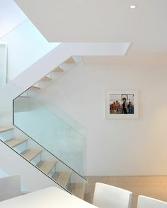 steps closed with glass (pic 2) #staircase