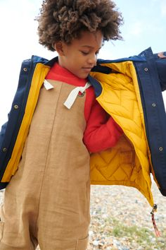 Kids fashion outerwear by TÖASTIE to cosy up in AW2021 - Smudgetikka