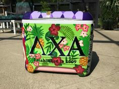 lambda chi alpha ΛΧΑ Hawaiian shirt pattern floral pattern cooler side