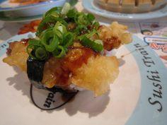 Tempura sushi Tempura Sushi, Kinds Of Sushi, Tacos, Mexican, Ethnic Recipes, Food, Essen, Meals, Yemek