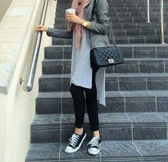 matched-vest-with-tunic-hijab-look