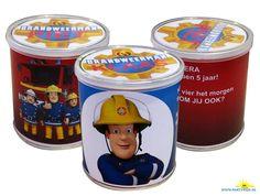 Brandweerman Sam Pringles wikkel