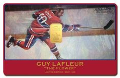 Hockey Legend Guy Lafleur https://www.karatbars.com/?s=darcygauin
