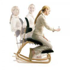 Chaise ergonomique ThatSit avec dossier Varier®