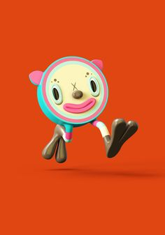 3D illustration and character designs for a kids show idea.