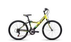 Detský Bicykel CTM Willy 1.0 2016 Čierna-žltá + komplet. poskladanie ZDARMA…