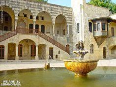 #Beiteddine Palace, inner court قصر #بيت_الدين، الباحة الداخلية Photo by Rabih