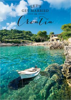 Need a fabulous destination idea? Croatia is stunningly beautiful. ---> http://www.weddingchicks.com/2014/05/16/get-married-in-croatia/
