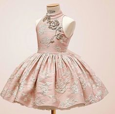 Pagent Dresses For Girls, Baby Girl Party Dresses, Pageant Dresses, Little Girl Dresses, Flower Girl Dresses, Little Girl Fashion, Kids Fashion, Stylish Baby Girls, Kids Gown