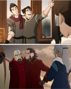 The Legend of Korra: brotherly love Korra Avatar, Team Avatar, Blade Runner, Avatar World, The Best Series Ever, Iroh, Cartoon Tv Shows, Fire Nation, Air Bender