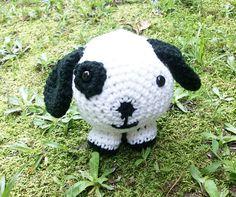 Peter Puppy a Plush  Stuffed Toy Dog by CoastalCrochetCrafts
