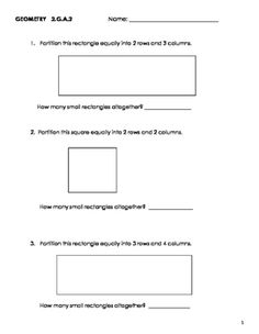No frills, extra practice with partitioning. The first four worksheets ...