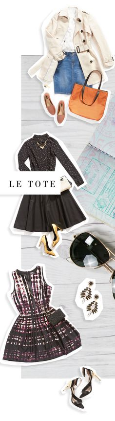 Wouldn't it be nice to have a constantly rotating closet for work, the weekend, and everything in between? With Le Tote you receive 3 piece of clothing and 2 accessories for as long as you want. Return everything when you're ready and get your next box days later.