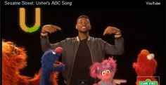 Good Stuff: Usher Rewrites Cute and Catchy ABC Song for 'Sesame Street' (Video)