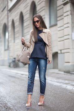 Street Style February Via Johanna Olsson