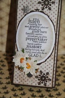 Heidis papirhobby: Sjokoladekort i lange baner How To Make Paper Flowers, Hobby, Projects To Try, Barn, Paper Crafts, Candy, Christmas, Bags, How To Make Flowers Out Of Paper