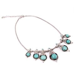 'Capitvating Tibetan Silver Turquoise Necklace ' is going up for auction at  5pm Sun, Dec 23 with a starting bid of
