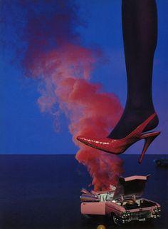 Miles Aldridge for Vogue Italia September 2000.