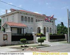 British embassy in Havana Cuba
