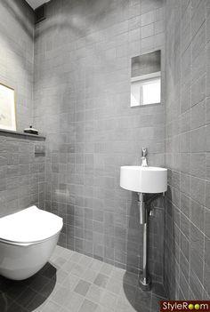 badrum - den grå färgen var fin