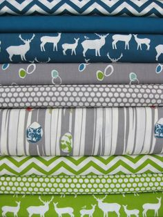 Fabricworm Custom Bundle, The Thicket, FAT QUARTERS, 9 Total, This website has REALLY cute fabric