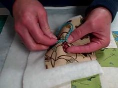 *How to Tie a Quilt Tutorial. You can also use embroidery thread (all 6 strands). Whatever you choose, be sure you read the label, and that it is not going to bleed color when washed.