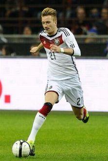 Marco Reus con la maglia della sua nazionale(Germania)