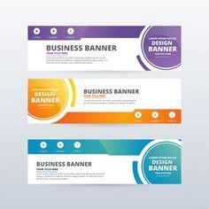 Ppt Template Design, Certificate Design Template, Templates, Banner Vector, Web Banner, Banner Template Photoshop, Graphic Design Brochure, Web Design, Fractions