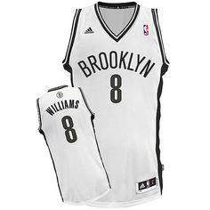 Brooklyn Nets Williams Swingman Trikot    Das Brooklyn Nets Williams Swingman Trikot ist das Williams Swingman Trikot von Brooklyn Nets. Das Trikot ist offizielles Lizenzprodukt von adidas und bestens geeignet für aktive Basketball Spieler sowie echte NBA Fans. Mit einem Material aus ist das Brooklyn Nets Williams Swingman Trikot sehr hochwertig und strapazierfähig.    Hersteller: adidas  Team:...