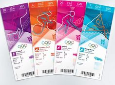 London 2012: Cool tickets!