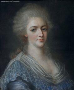 Marie Antoinette by Louise Élisabeth Vigee Le Brun?