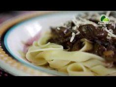Tagliatelle ao Funghi e Vinho Branco - Sabores da Semana Pão de Açúcar - gordelícias
