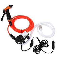 Yosoo Car Wash Pump, Portable High Pressure Self-Priming Quick Car Cleaning Water Pump Electrical Washer Kit Washer Pump, Electric Water Pump, Electric Cars, Portable Car Washer, Diy Car Wash, Clean Air Conditioner, Kit, Refrigeration And Air Conditioning, Cleanser
