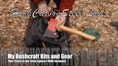 My Bushcraft Kits and Gear That I Carry in the Teton Explorer 4000 Backpack