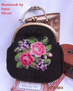 Beautiful embroidered purse