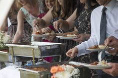 Many fantastic catering options for your hungry guests! Mountain Weddings, Rehearsal Dinners, Special Events, Catering, Dining, Food, Dinner, Essen, Yemek