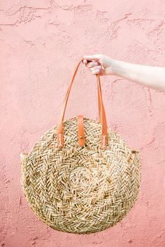 Straw tote, summer b