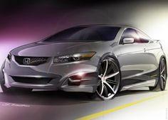 2007 Honda Accord HF S Concept/Became the 2013 Honda Accord Coupe