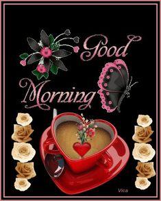 Good Morning Wishes Gif, Good Morning Gift, Good Morning Romantic, Good Morning Flowers Gif, Cute Good Morning Quotes, Good Night Gif, Good Morning My Love, Good Morning Inspirational Quotes, Good Morning Coffee