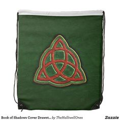 Book of Shadows Cover Drawstring Backpack
